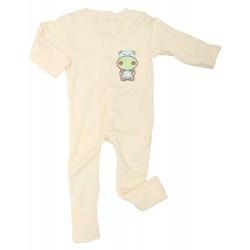 Imochi Sleepsuit Panjang - Yellow Hippo
