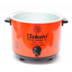 Takahi Slow Cooker 1.2 L Sparepart Body Only - Red