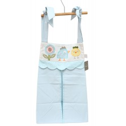 Cribcot Nappy Stacker - Candy Land Blue