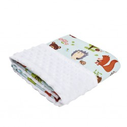 Cottonseeds Baby Blanket - Animal Forest