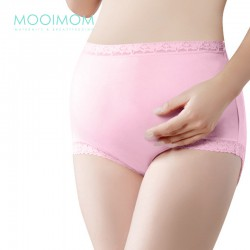 MOOIMOM Lace Hight Waist Maternity Briefs Celana...
