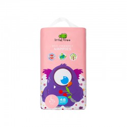 Little Tree Nappies Monster Diapers Popok Bayi -...