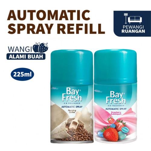 Bayfresh Automatic Spray Pengharum Ruangan 225 ml - Pilih Varian