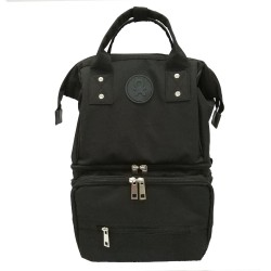 BabyGo Inc Cooler Bag Ollio Backpack - Black