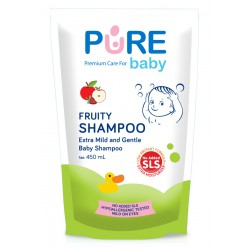 Pure Baby Shampoo Fruity Refill Pack - 450ml