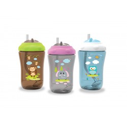 Baby Safe Sipper Cup with Weighted Straw - 300ml...