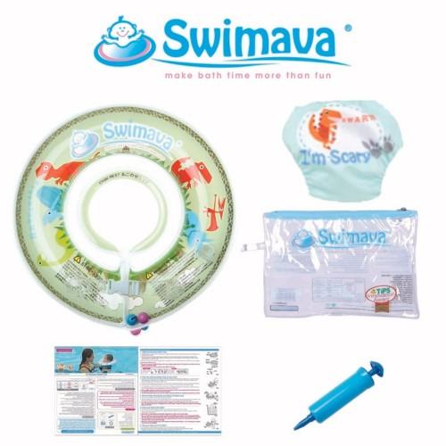 Swimava G1 Starter Set Neck Ring & Diaper - Mesozoic