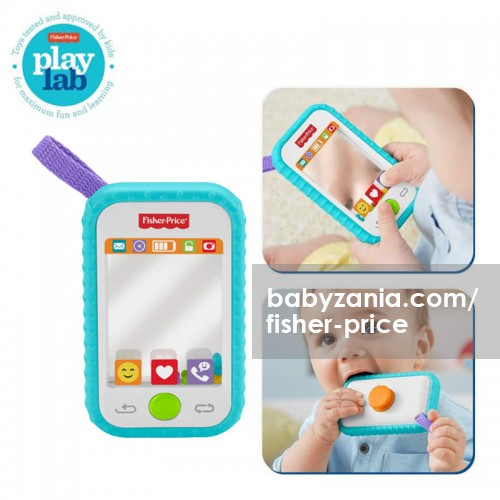 Fisher Price Selfie Fun Phone Mainan Edukasi Anak Bayi Balita 3m+