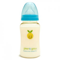 Green to Grow Baby Bottle Wide Neck - 10oz/300ml