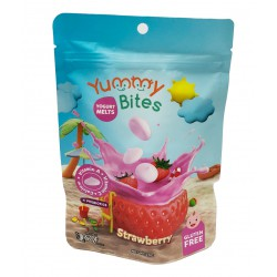 Yummy Bites Yogurt Melt 20gr - Strawberry