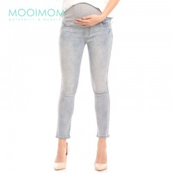 MOOIMOM Over The Bump Maternity Skinny Jeans...