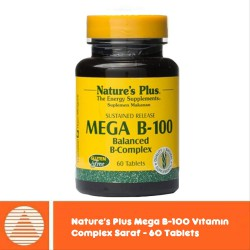 Nature's Plus Mega B-100 Vitamin Saraf/ Anti...