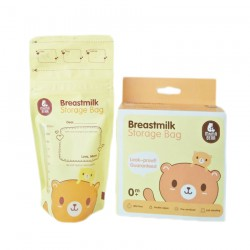 MamaBear Breastmilk Storage Bag 200ml - 30 Pcs