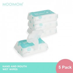 MOOIMOM Baby Wet and Dry Wipes Tissue Bayi 20...