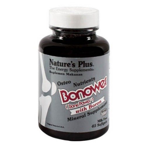 Nature's Plus Bonower - 45 Softgels