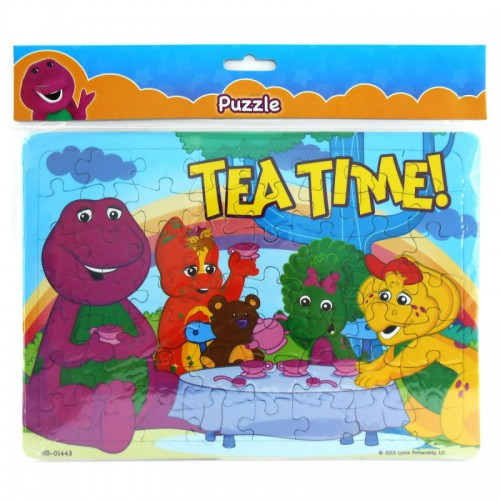 Barney Puzzle Large 11 - Tea Time