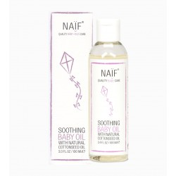 Naif Soothing Baby Oil With Natural Cottonseed...