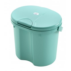 Rotho Nappy Pail Top - Curacao Blue