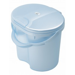 Rotho Nappy Pail Top - Baby Blue Pearl