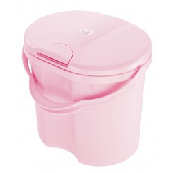 Rotho Nappy Pail Top - Tender Rose Pearl