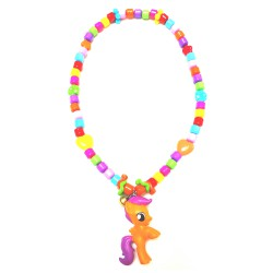 Lope Corner Kalung Little Ponny - Orange
