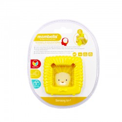 Mombella Educational Geometry Sensory Teether Toy...