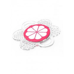 Mombella Flower Fruit Teether - Pink Mangoosteen