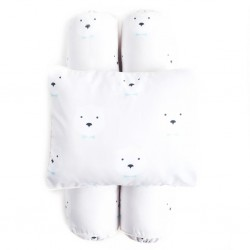 Cottonseeds Pillow Bolster Set - Papa Bear