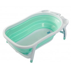 Karibu Folding Bathtub - Turquoise
