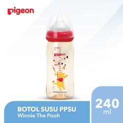 Pigeon Bottle PPSU Disney with Peristaltic Plus...