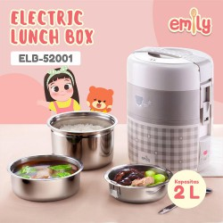 Emily Electric Lunch Box Baby Cooker - 2 Liter
