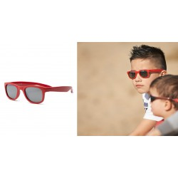Real Shades Kacamata Anak Surf 2+ - Red Wayfarer