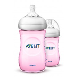 Philips Avent Natural 2.0 Baby Bottle (Twin Pack)...