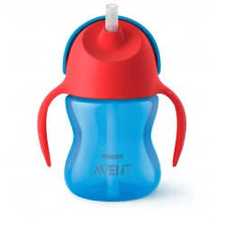 Philips Avent Straw Cup Single Boy 200 ml - Red...