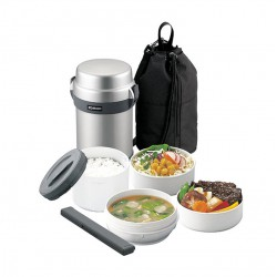 Zojirushi Insulated Lunch Jar 4 Susun SL-JAF14-SA...