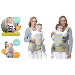 Crown Snuggle 6 in 1 Hipseat Carrier Gendongan...