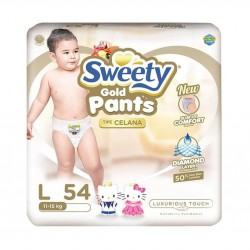 Sweety Popok Bayi Pantz Royal Gold  - L 54 NEW