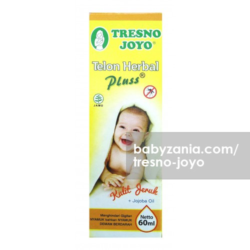 Tresno Joyo Minyak Telon Herbal Plus Kulit Jeruk + Jojoba Oil 60ml