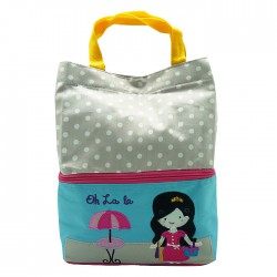 Char & Coll Tas Makan Bento Lunch Bag -...