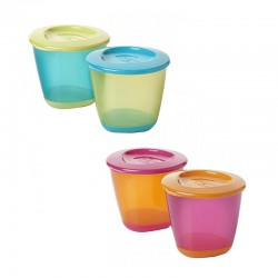 Tommee Tippee 2 Pack Pop Up Weaning Pot - Color May Vary