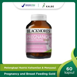Blackmores Pregnancy & Breast-Feeding Gold -...
