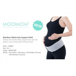 MOOIMOM Bamboo Maternity Support Belt Sabuk...