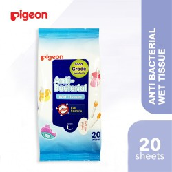Pigeon Anti Bacterial Baby Wet Tissue 20 Sheets
