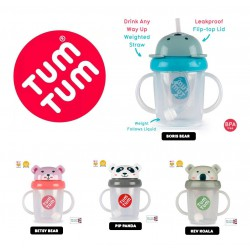 Tum Tum Tippy Up Sipppy Cup Botol Minum Bayi 200...