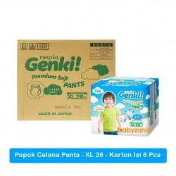 Nepia Genki Popok Bayi Celana Pants  XL26 / XL 26...