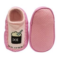 Sorex Sepatu Bayi dengan Anti Slip YB 112 - Pink