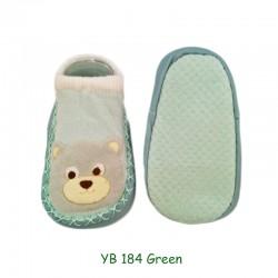 Sorex Sepatu Bayi dengan Anti Slip YB 184 -  Green