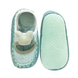 Sorex Sepatu Bayi dengan Anti Slip YB 185 - Green