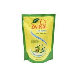 Zwitsal Natural Rich Honey Baby Milky Bath Refill...