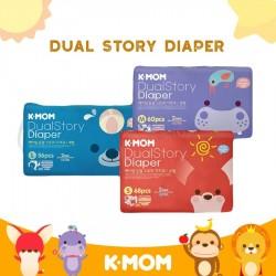 K-MOM Dual Story Diaper Tape / KMom Popok Bayi...
